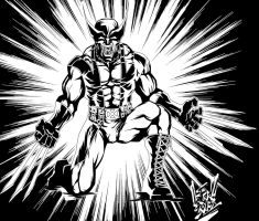 Wolverine-ink by lefad