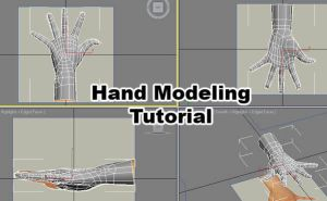 Hand Modeling Tutorial 3dsmax by Athey