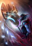 Dota 2 - Altered Fates: Skywrath and Vengeful by raikoart