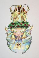 + Christmas Fairy: Peace + by Glittercandy