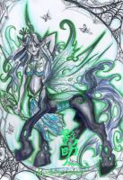 Chrysalis the Changeling Queen by ShadowSaber