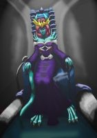 Evil Queen background added by flerna