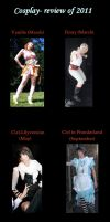 Cosplay review of 2011 by Pentragon1990