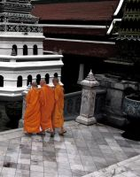Buddhist Monks by joshbomb