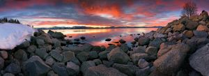 Lake Tahoe Panorama by enunez