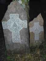 Celtic Crosses by Fulstein