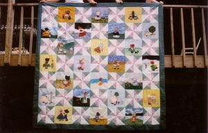 My Sunbonnet Sue Quilt by sunnyfish