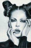 Shirley Manson by Cora-Tiana
