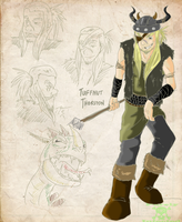 HTTYD-NG: Tuffnut Thorston by PurelyInfected