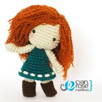 Merida from Brave Inspired Crochet Plush Doll by CyanRoseCreations