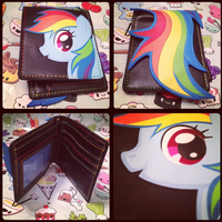 MLP-Rainbow Dash Wallet from Hot Topic (For Sale) by KrazyKari