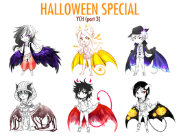 YCH - Halloween special part 3 by Yokufo