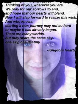 Kingdom Hearts opening quote by lovelyblackmoon7
