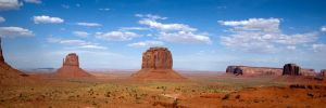 Pano Monument Valley no.1 by grodpro