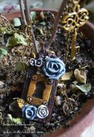 Secret Garden necklace by Nika-N