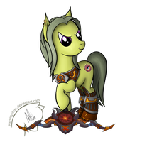 Orc Hunter My Little Pony by sterlingsilver