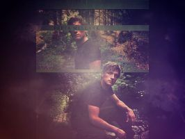 . mellark wallpaper . by ImprintedVampire