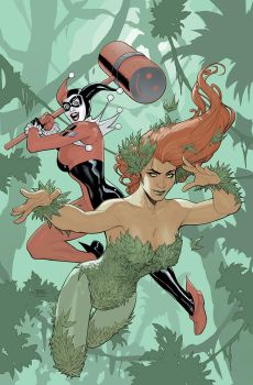 Poison Ivy #1 Cover by TerryDodson