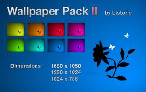 Flower - Wallpaper Pack II by Listoric