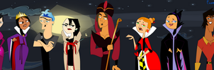 Disney and Total Drama Villains by Eureka97