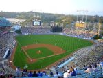 Dodger Stadium by TehStarky