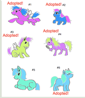 Free MLP Adoptables Set 7: 1/6 Open! by WarriorCatLuver123