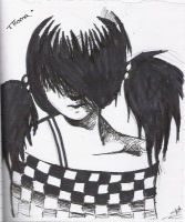 emo girl by mimiss-dessin