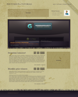 My first grunge webdesign by gerbengeeraerts