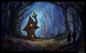 House in the Woods by sur-mata
