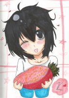 Strawberry? :3 by ShadowShyna
