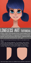 Lineless artwork (and icons) tutorial by kanievska
