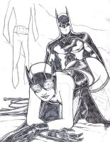 Catwoman's Fantsy by facelesscow