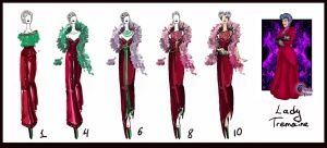 Lady Tremaine- evolution by Sashiiko-Anti