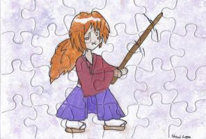 Kenshin puzzle by AngelicalDesign