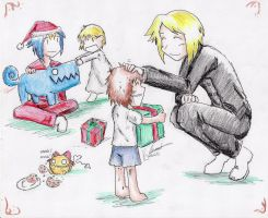 A Merry Auosh Christmas by hewhowalksdeath