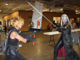 AN2008 Cloud vs Sephiroth by 310322094