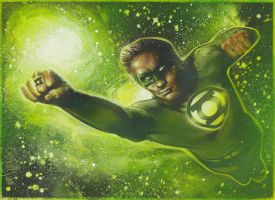 Green Lantern by JeffLafferty