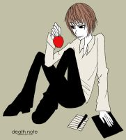 PD: Apples are death by jknozmo