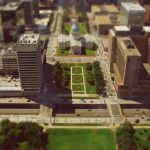 Downtown St. Louis Tilt-shift by kschlueter