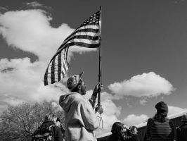 Flag Waver by Vermontster