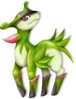 Virizion by OverTheLazyDog