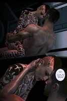 Mass Effect Aftermath - Page 194 (Mature scene) by Nightfable
