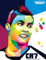 Christiano Ronaldo in WPAP by ihsanulhakim