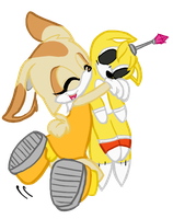 Tails Doll x Cream by mechanical-resonance