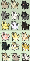 chubby adoptables 1 by pugfaced