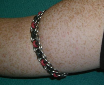 Helm Chain Armband by DragonoftheElements