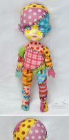 Commission  - Lati Yellow Suji - Patchwork doll 02 by prettyinplastic