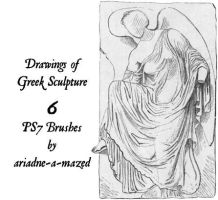 Greek sculpture brushes by ariadne-a-mazed