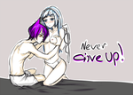 Never Give Up! by colART-bloch