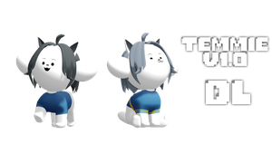 MMD Undertale - Temmie v1.0 by MagicalPouchOfMagic